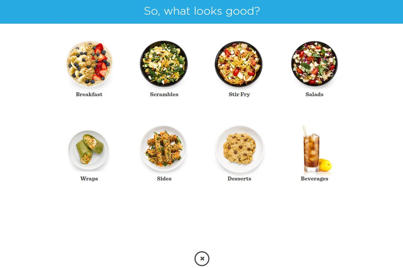 Online Ordering - Mollie and Ollie's online orderingis clean, bright, and visual.