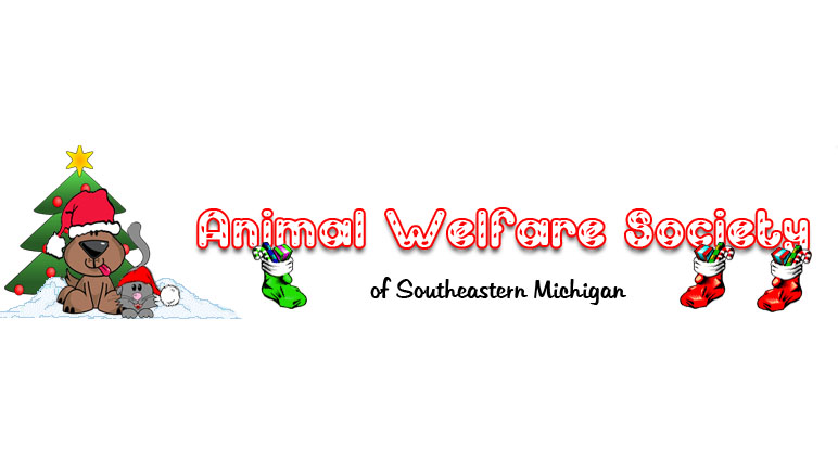 Animal Welfare Society of Southeastern Michigan - Finding homes for as many adoptable animals as humanly possible. AWS also educates the public on the importance of spaying and neutering, as well as puts an end to the needless and senseless killing by shelter of healthy, adoptable pets.