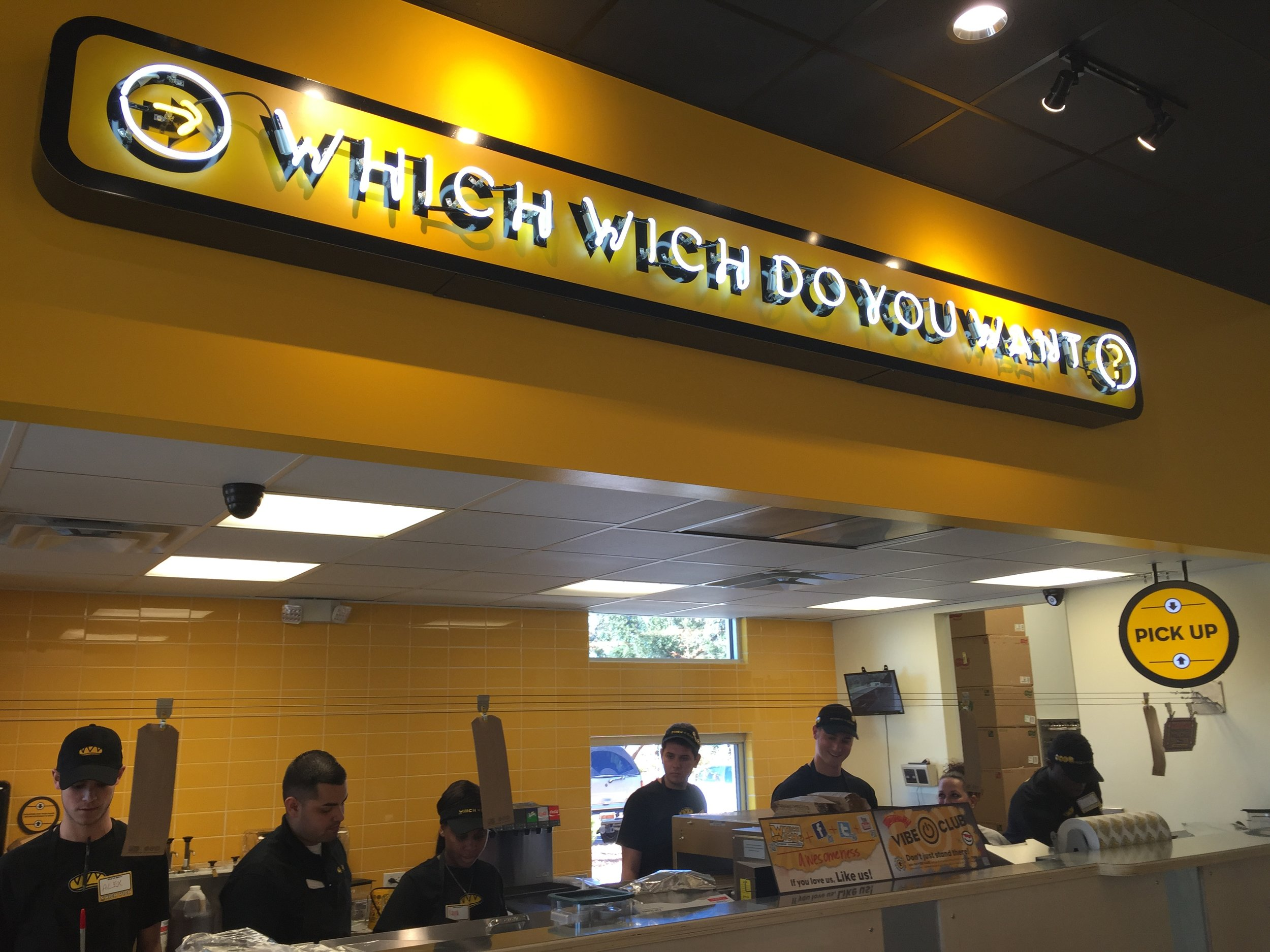 Which Wich takes on the 3-minute lunch, an endeavor once dominated by QSR. -