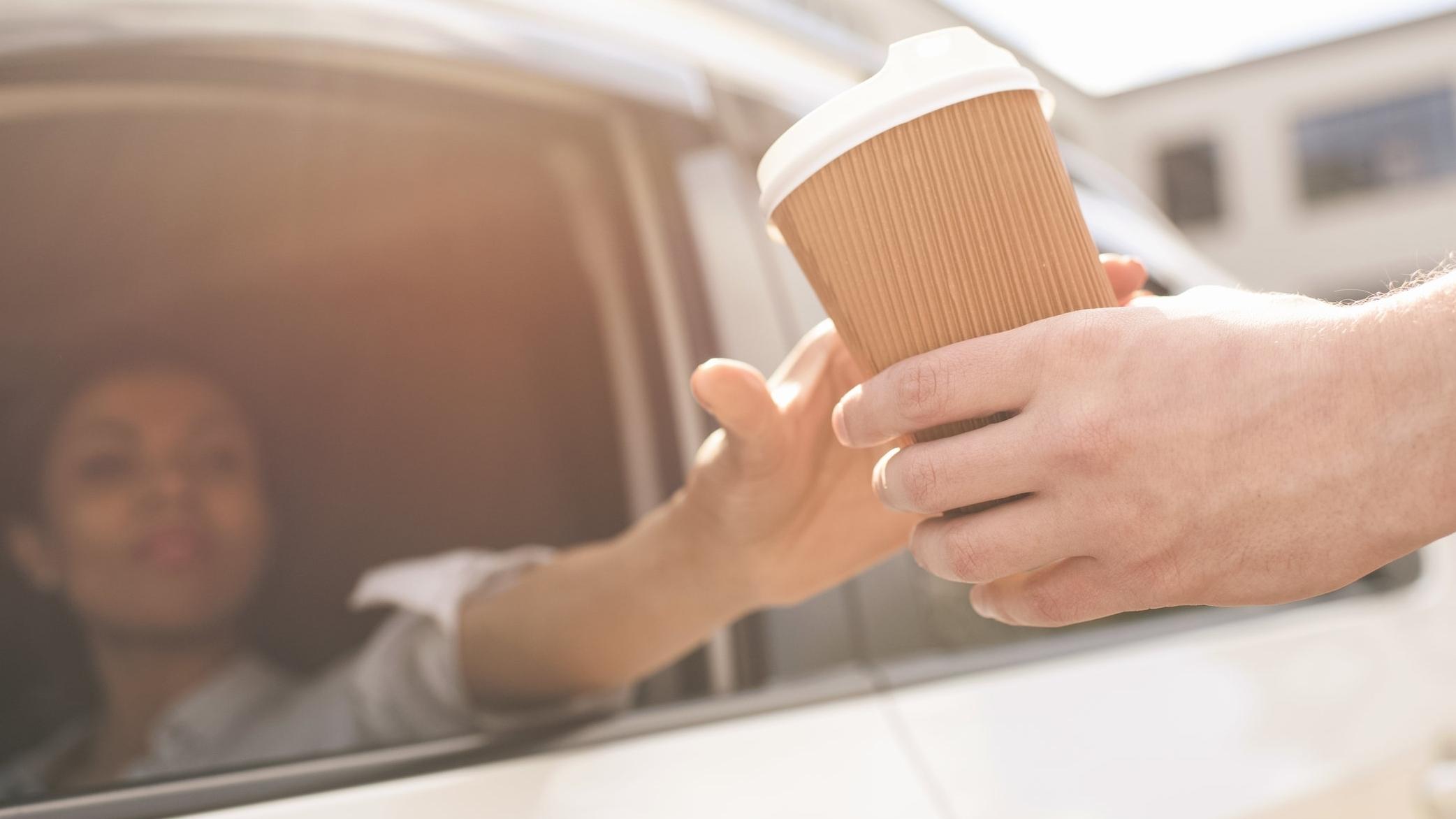 Next generation drive-thru technology. -