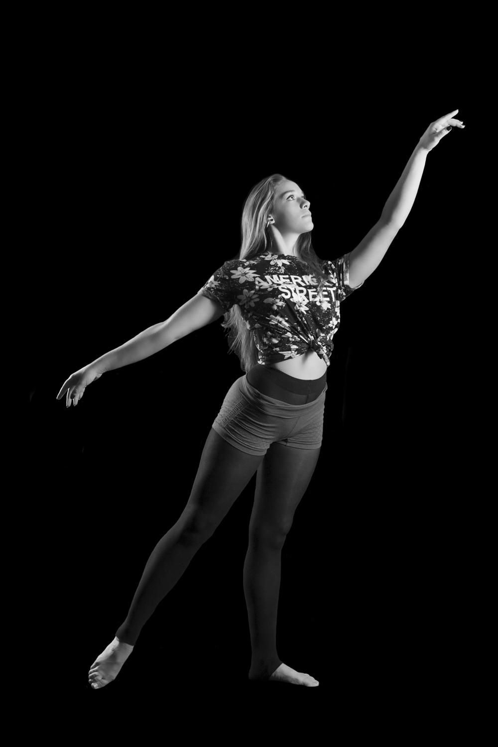 Dancers have a special quality to them.  Their bodies can produce incredibly beautiful forms.  In this series, I strived to showcase the lines and shapes a dancer's body can produce.