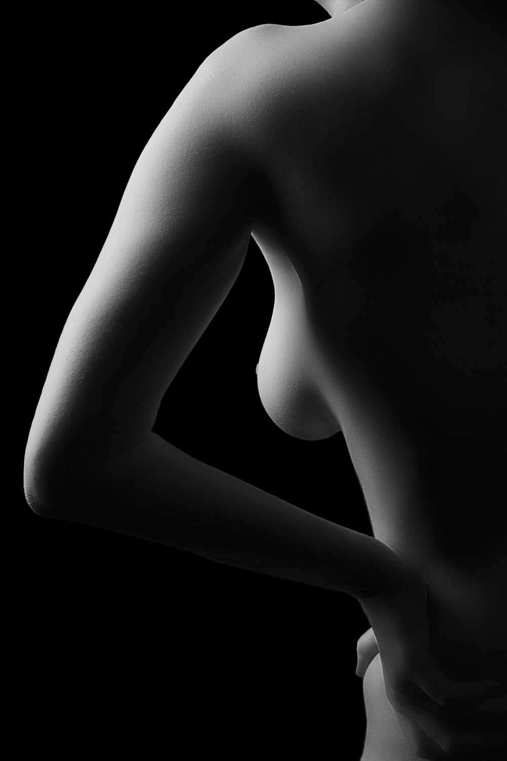 The Female Body  is not about depicting nudity, it is not about capturing perfection, and it is not about holding true to any conventional standard of beauty. It is a celebration of the female form. It is a celebration of natural beauty.  A book of this series is available for purchase  here .