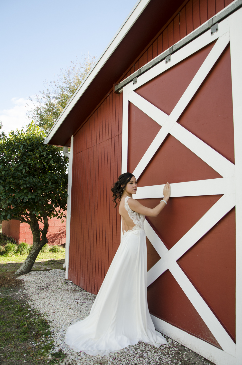 """Model: Kayley Jacobs  Dress: """"Broome"""" by Sarah Seven Dress from: Ivory and Beau Location: Red Gate - Savannah, GA"""