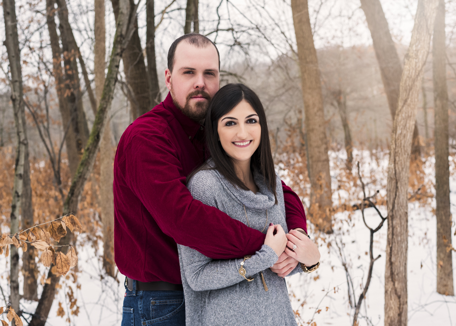 Morgan and Murray's Engagement Location: Captain Daniel Wright Woods