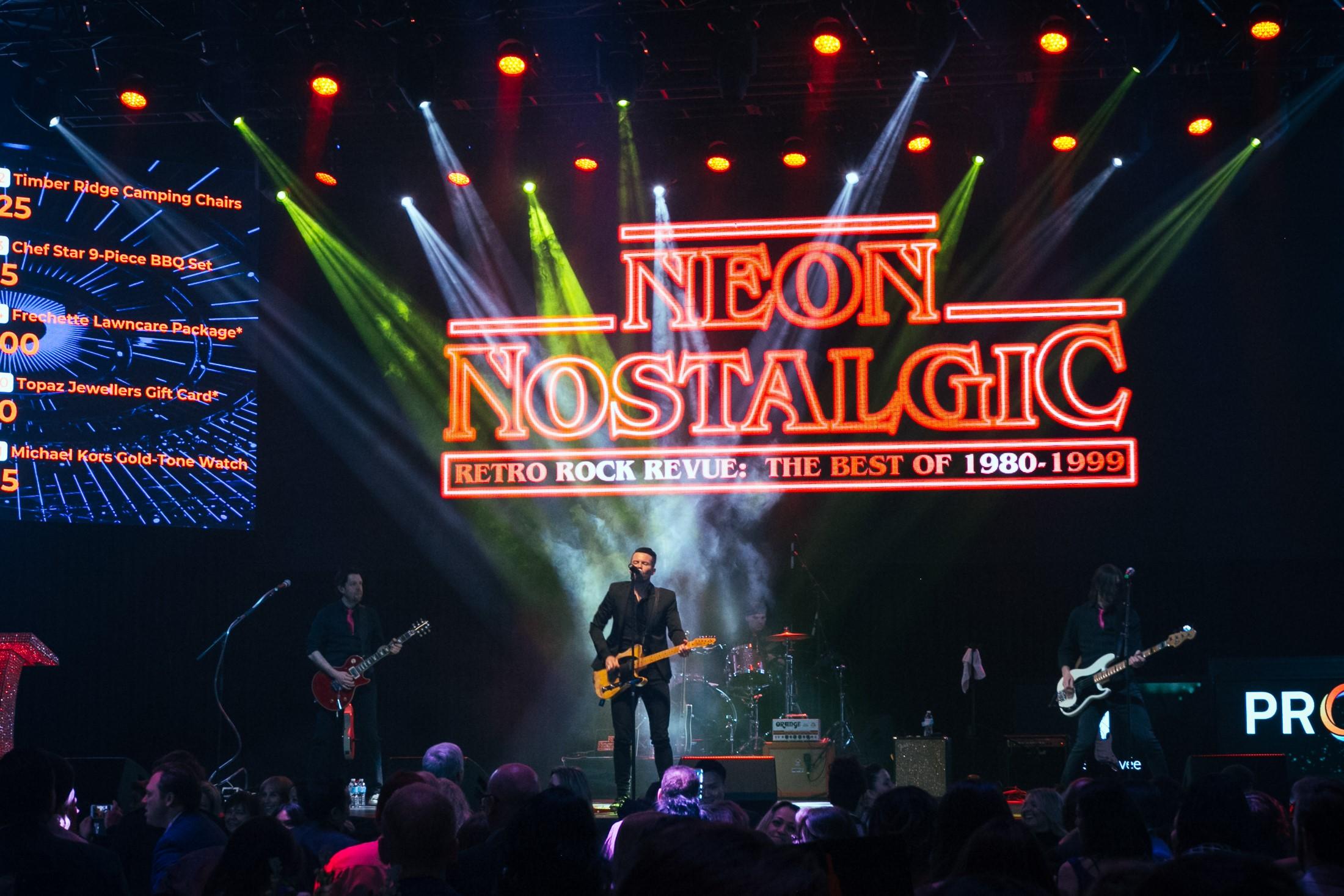 Shawn Brady and Neon Nostalgic