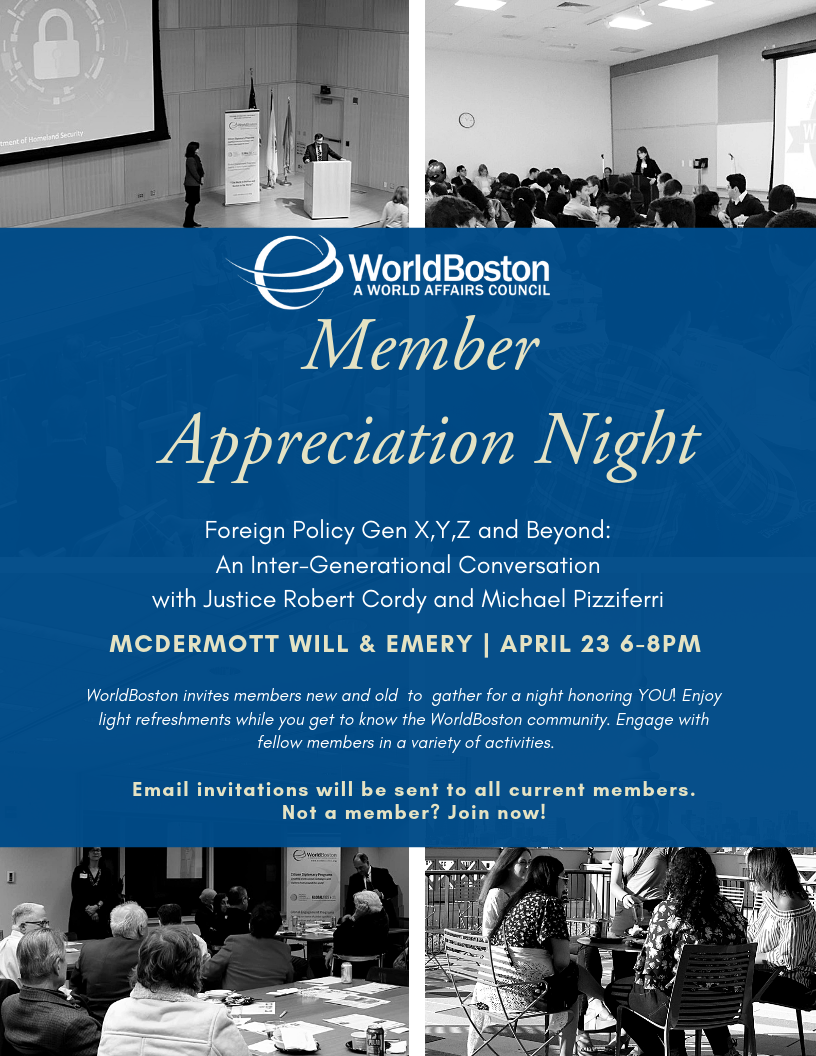 List of Events — WorldBoston