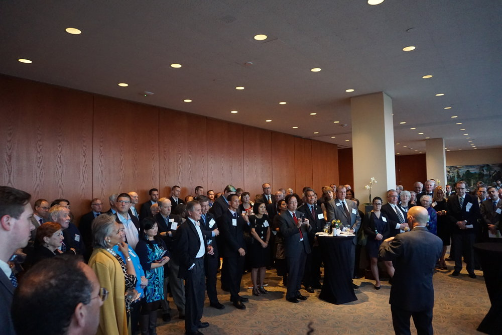 8th Annual Consuls Reception in 2017 with Admiral James Stavridis.