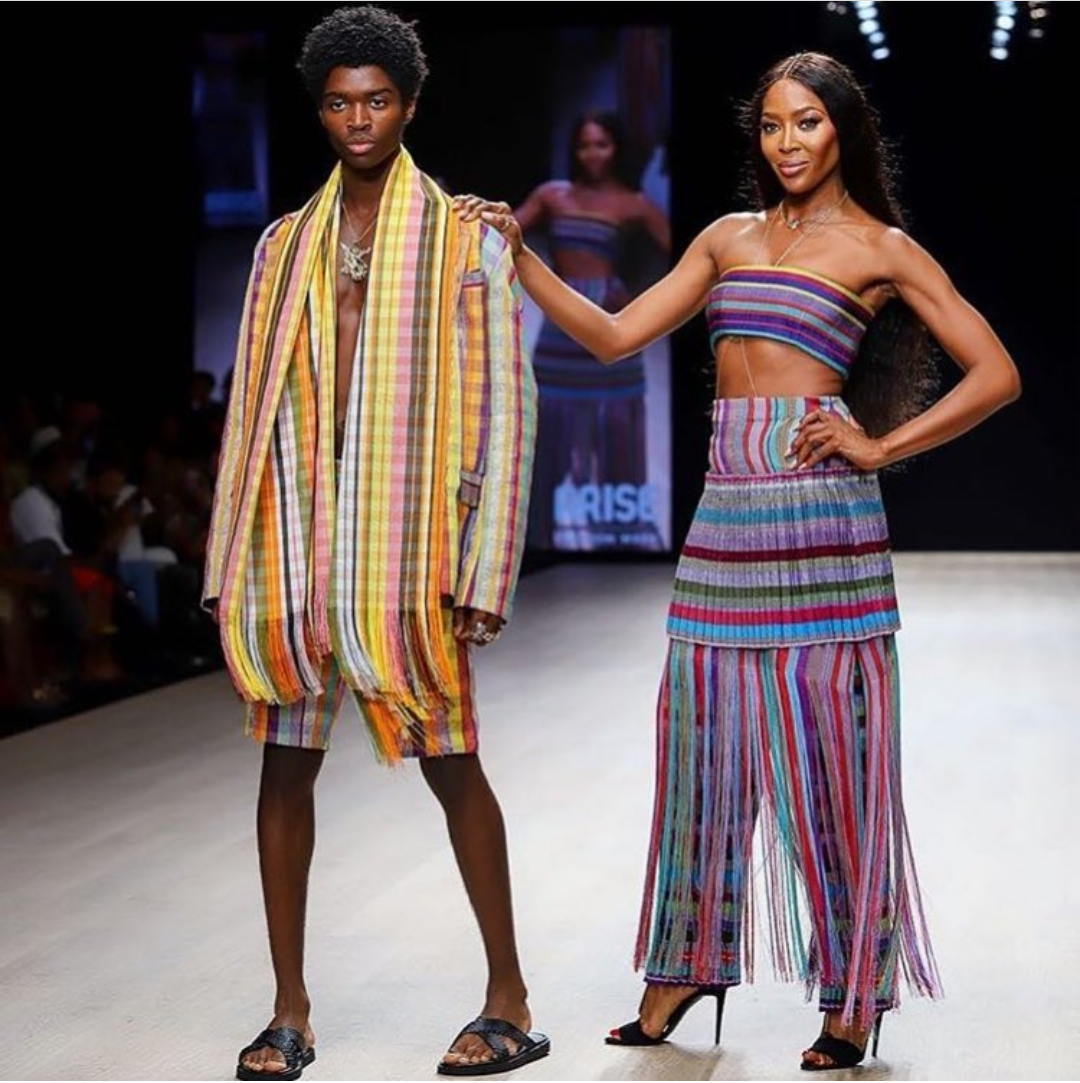 Images by Rezbonna via Arise Fashion Week on Instagram.