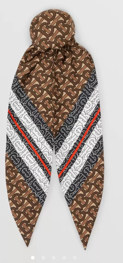 Scarf and image by Burberry.