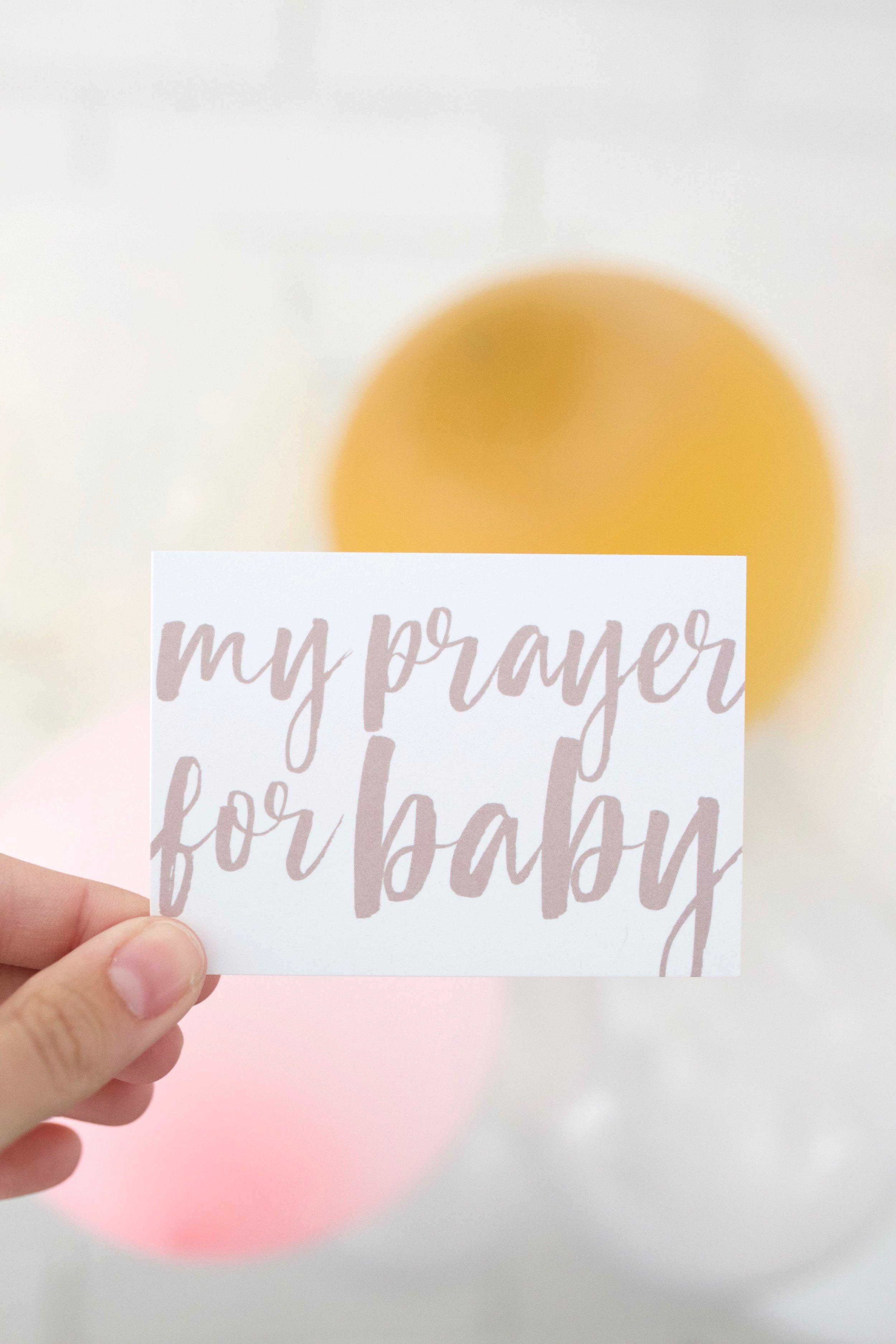 Prayer for Baby