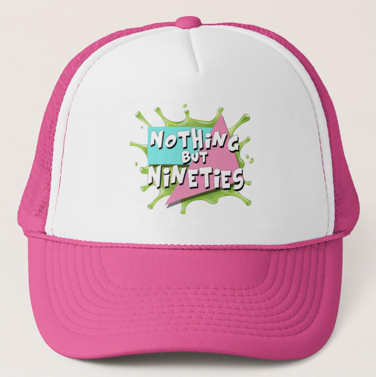 Nothing But Nineties Hat Pink