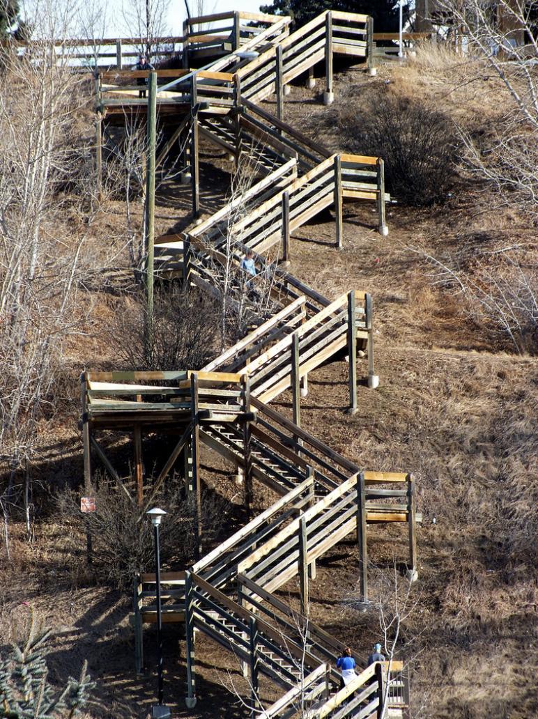 McHugh Bluff Stairs