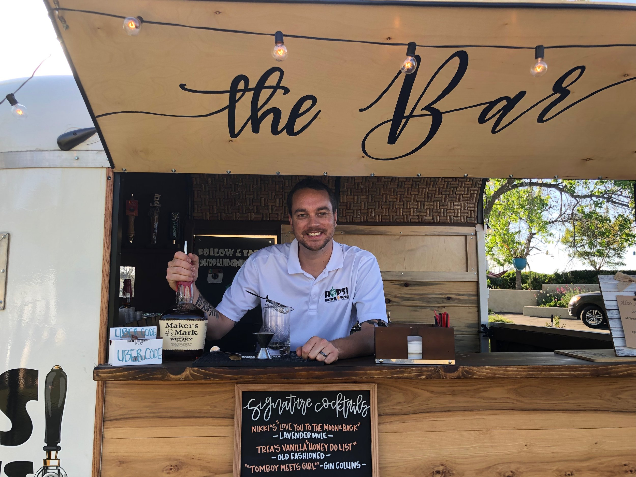 Meet Steve… - The owner & head bartender