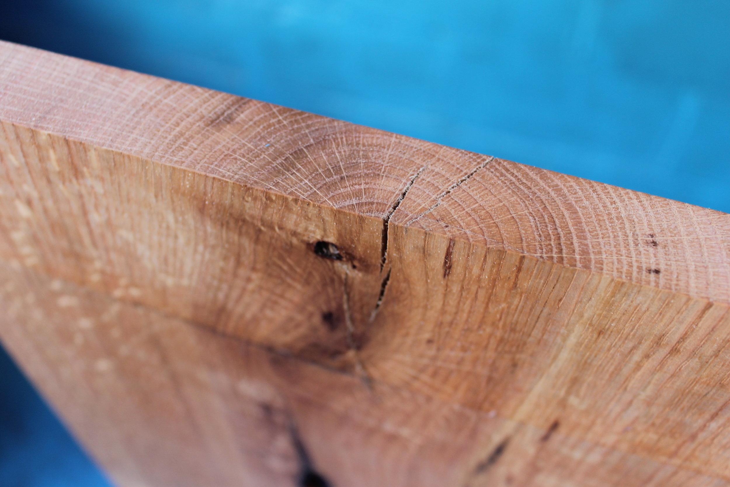 red oak grain profile.