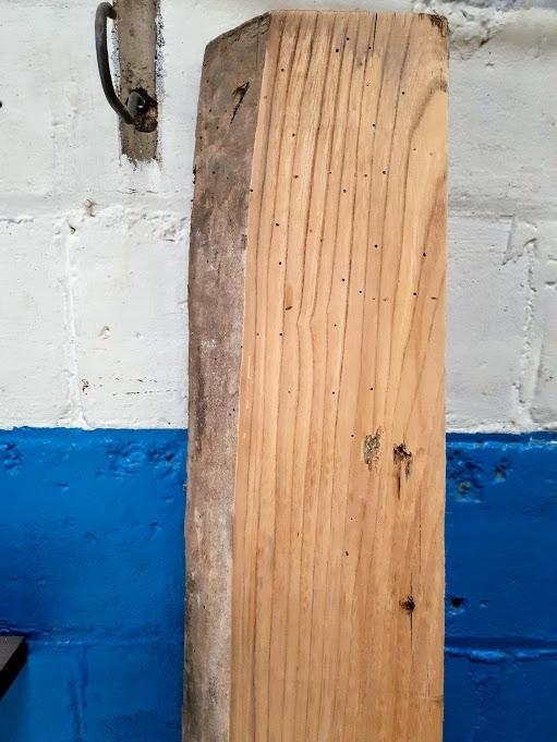 live edge mantel birch