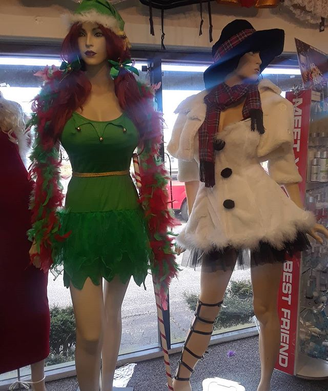 For a Naughty Santa party, Suzettes Boutique is the only name you need to snow