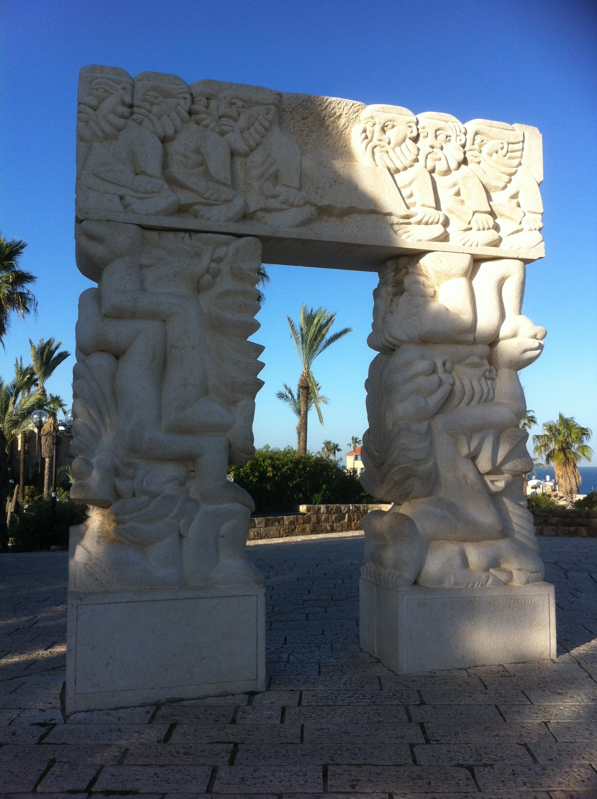 Wish gate. Jaffa, 2016.