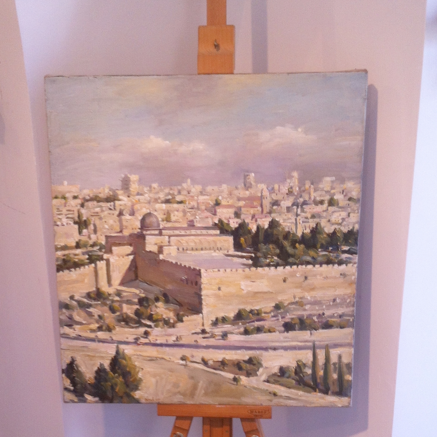 Art gallery in Sefat, 2017