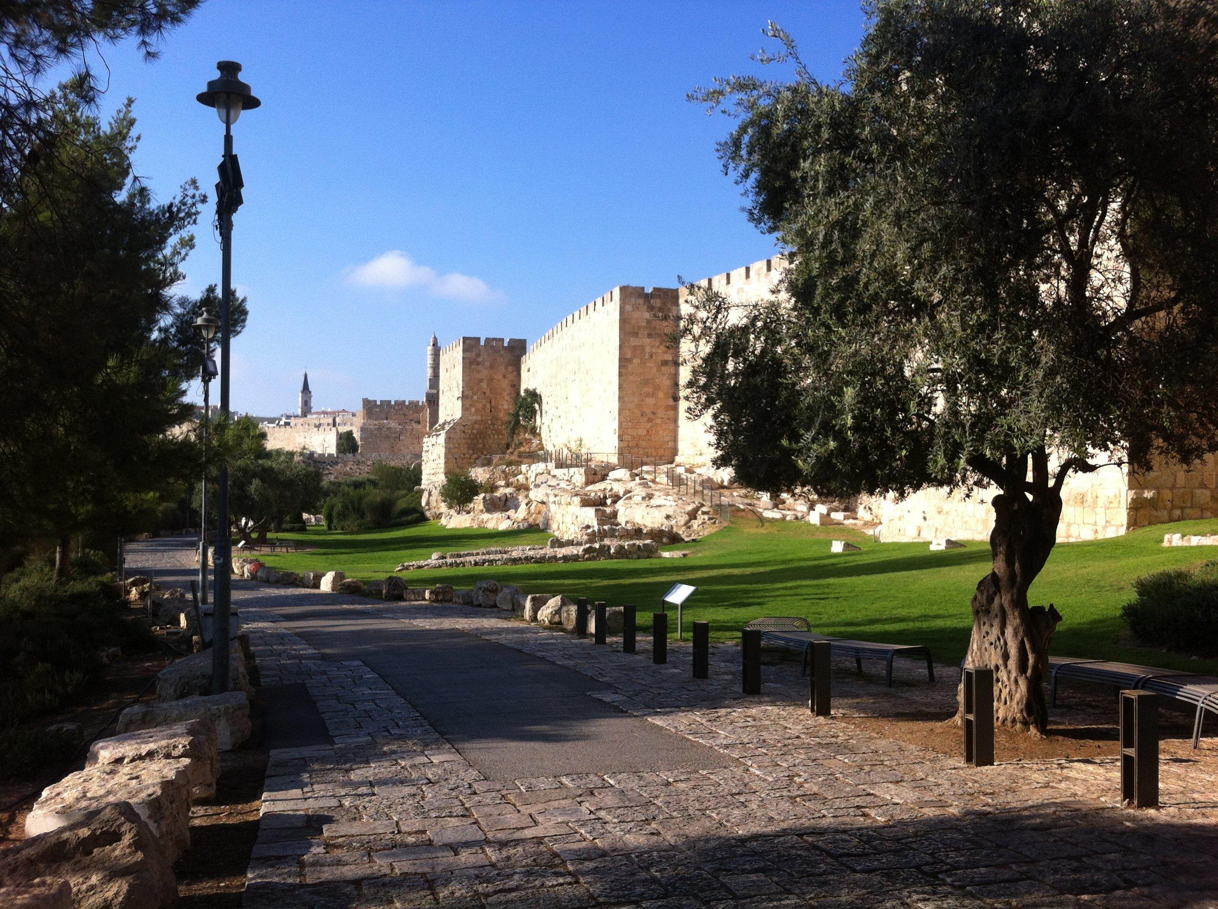 City walls, Jerusalem, Israel August 2018