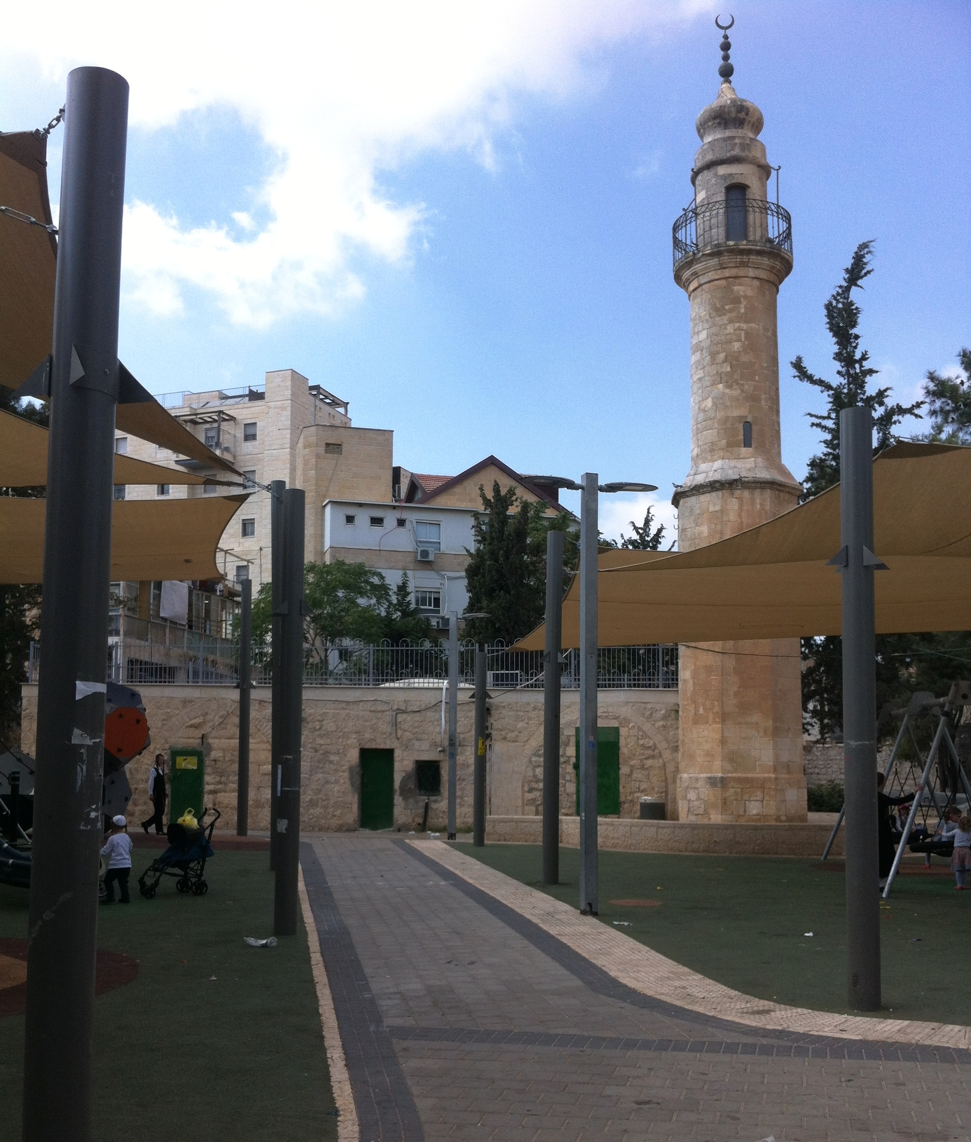 Playground Jerusalem, Israel. August 2018.