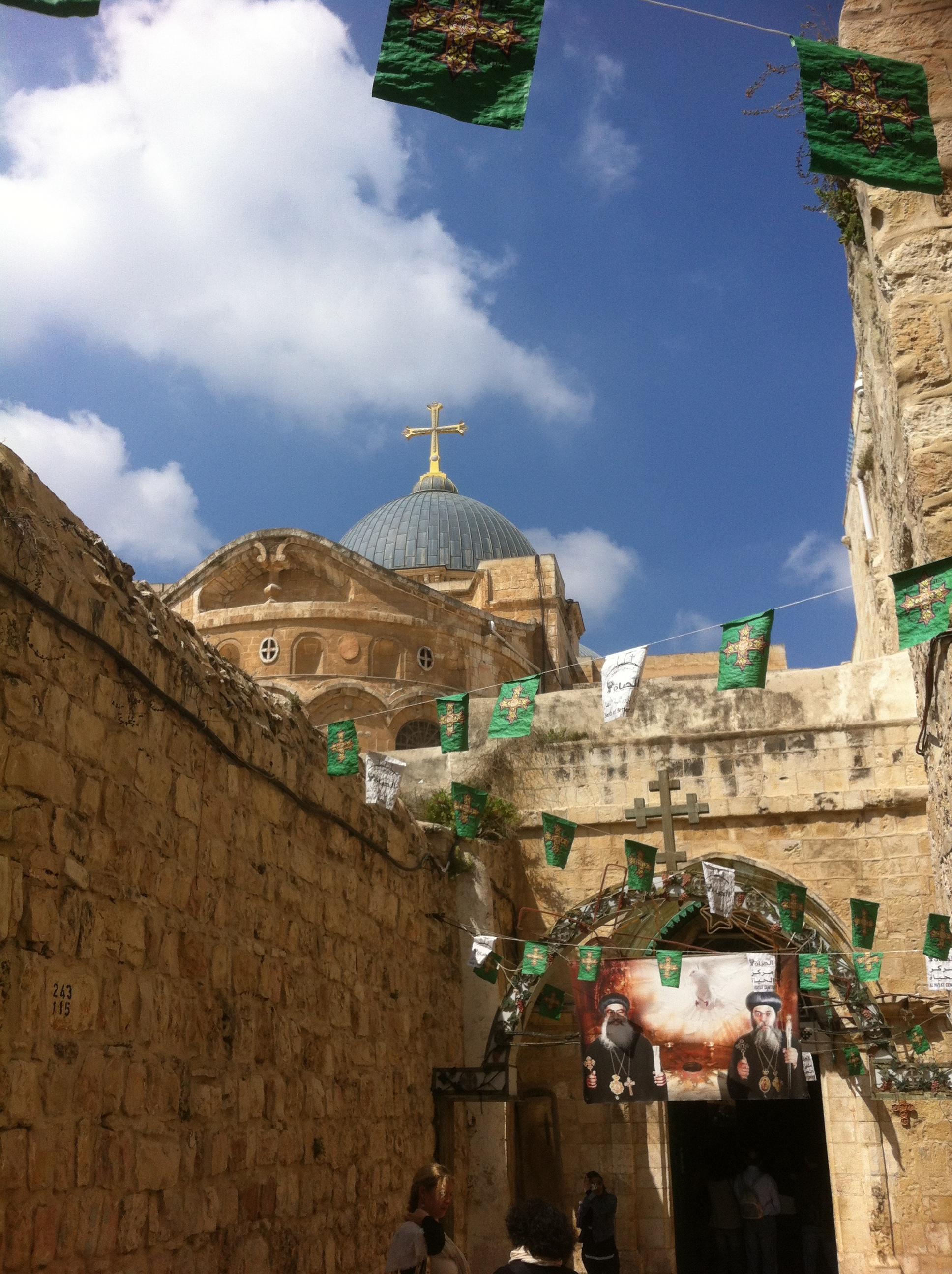 Jerusalem, April 2017. Listening to Jesus