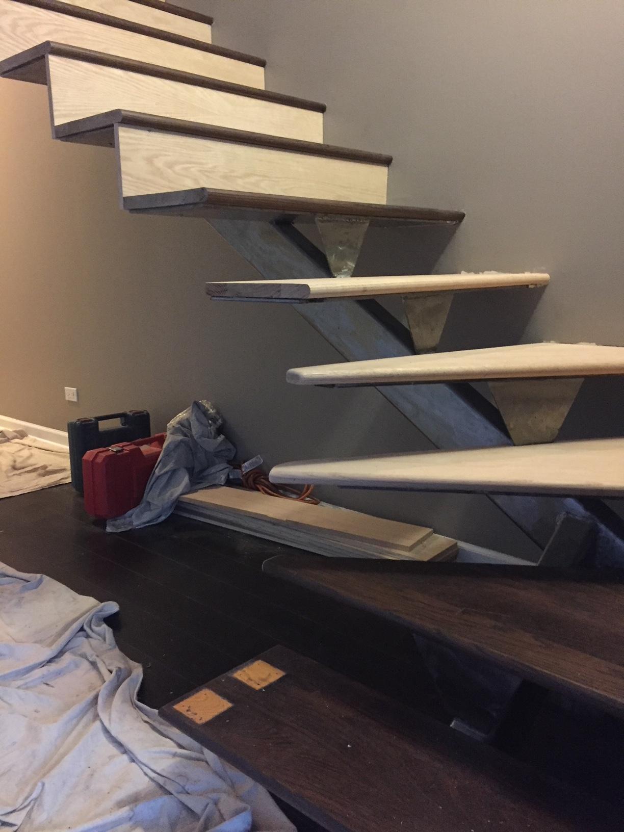 Stair Closure & Closet Before