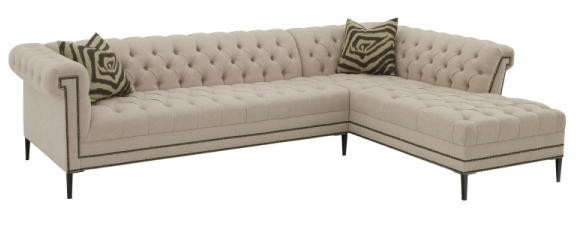 Euphoria One Arm Sofa with Chaise
