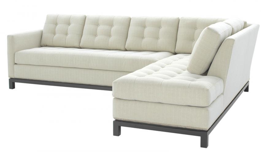 Dexter One Arm Sofa w/ Chaise