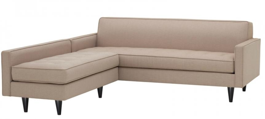 Westwood Two Arm sofa w/ Armless Loveseat