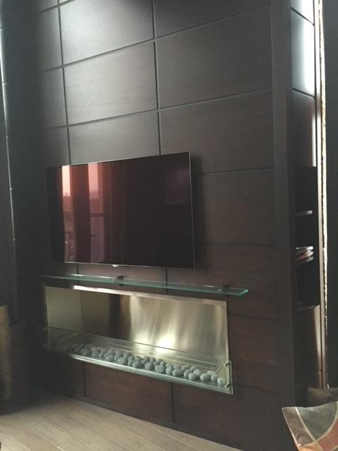 Custom Fireplace Built in