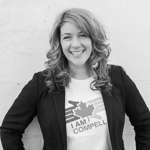 Crystal Lavallee -   Founder of I Am Compelled Canada    Workshop: Live With Confidence & Get Results