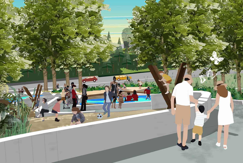 Linda beach Park master plan