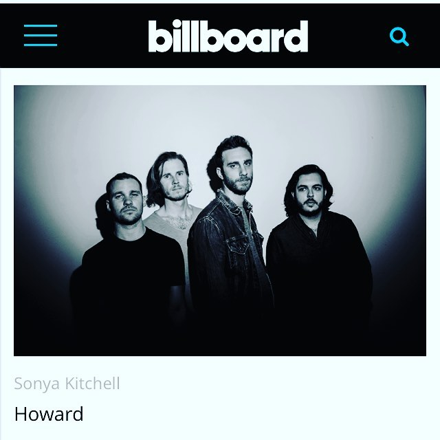 Go over to @billboard to stream our new album before it drops on Friday! Link in bio! Album release show thurs, sept 13 at Mercury Lounge NYC!
