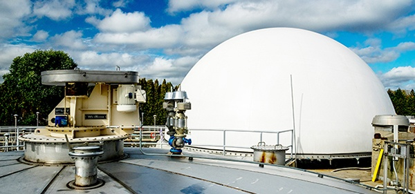 WesTech Digester Cover