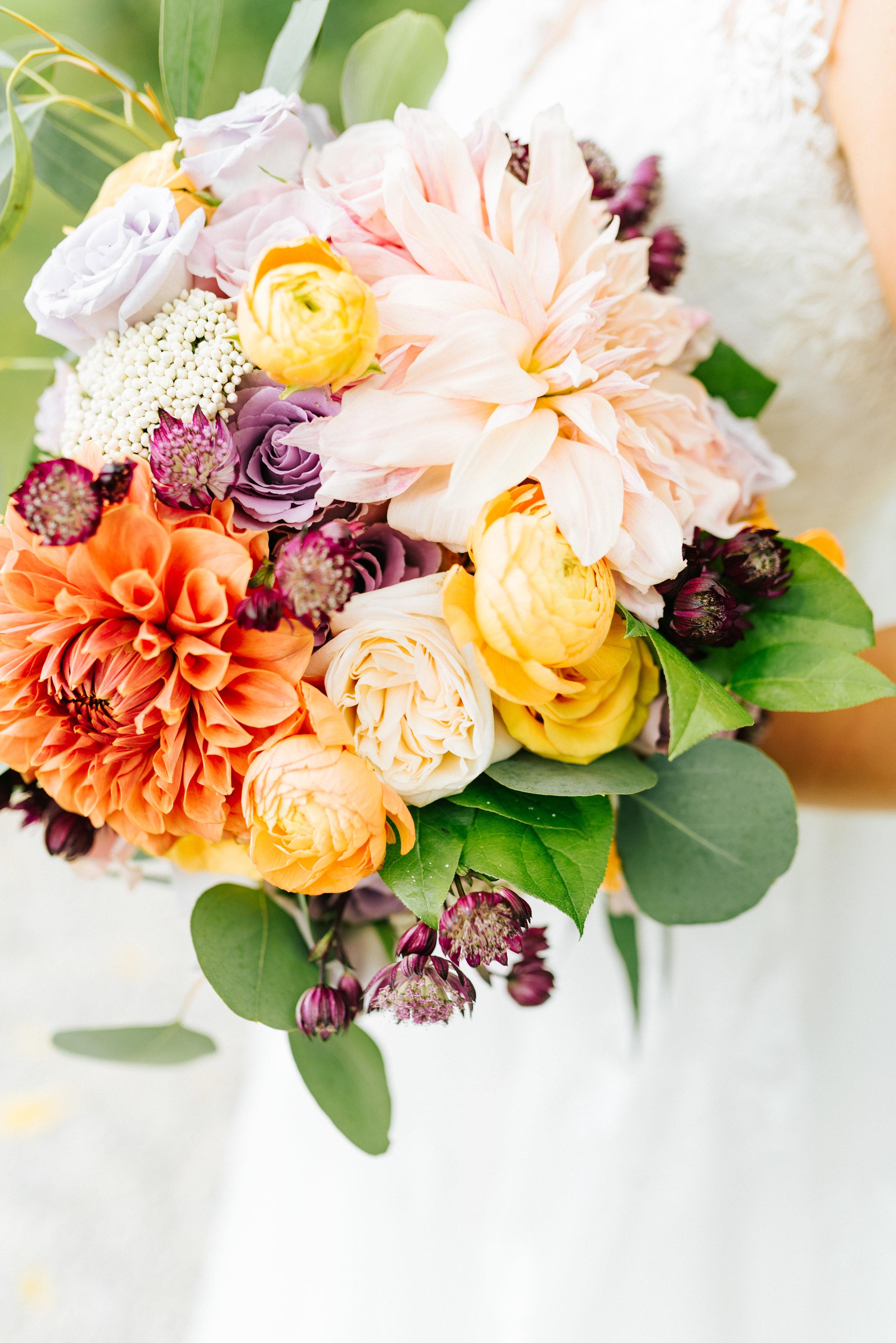 Cafe Au Lait Bridal Bouquet
