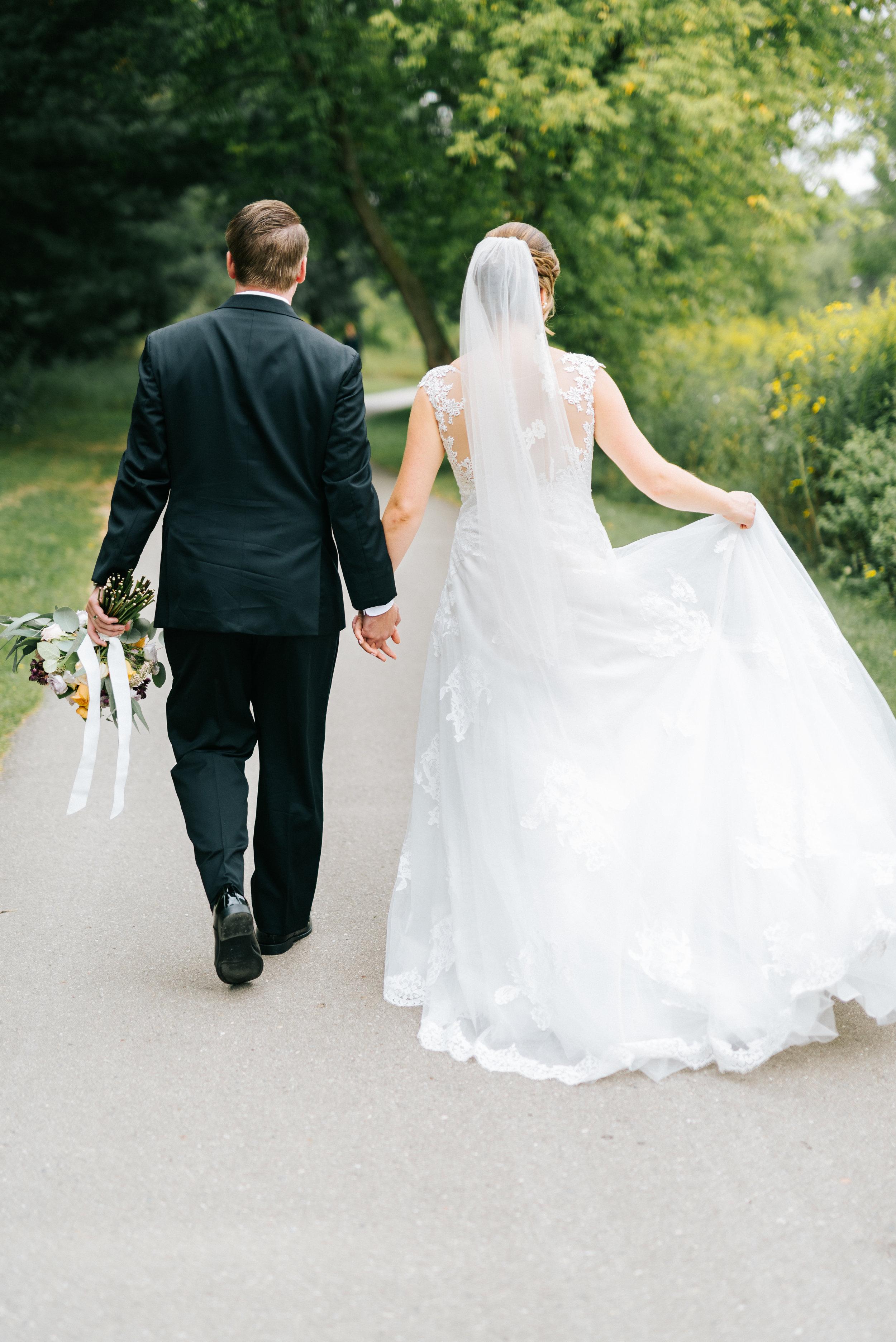 Fall Wedding in Ann Arbor Michigan