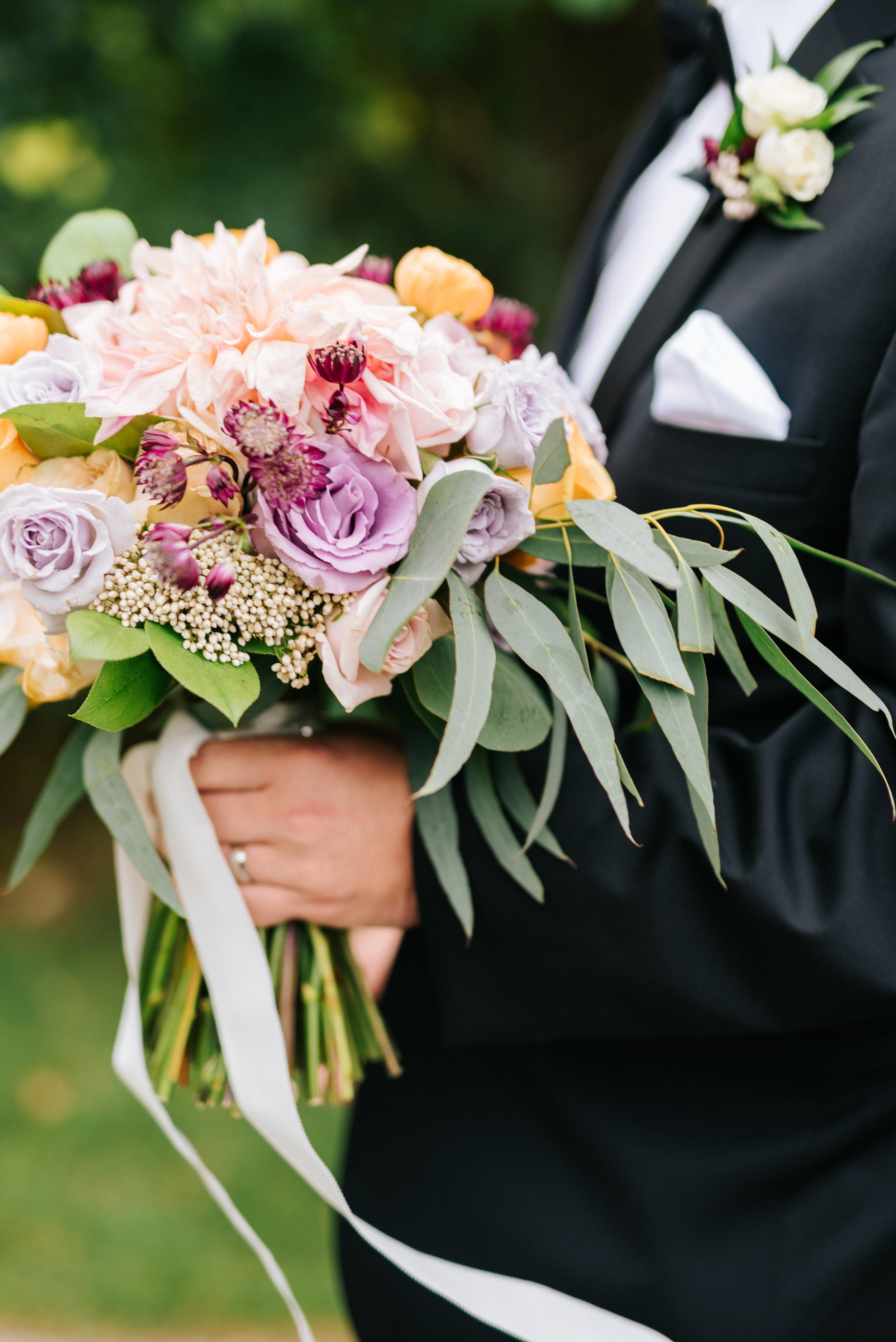 Fall Bridal Bouquet in Ann Arbor Michigan