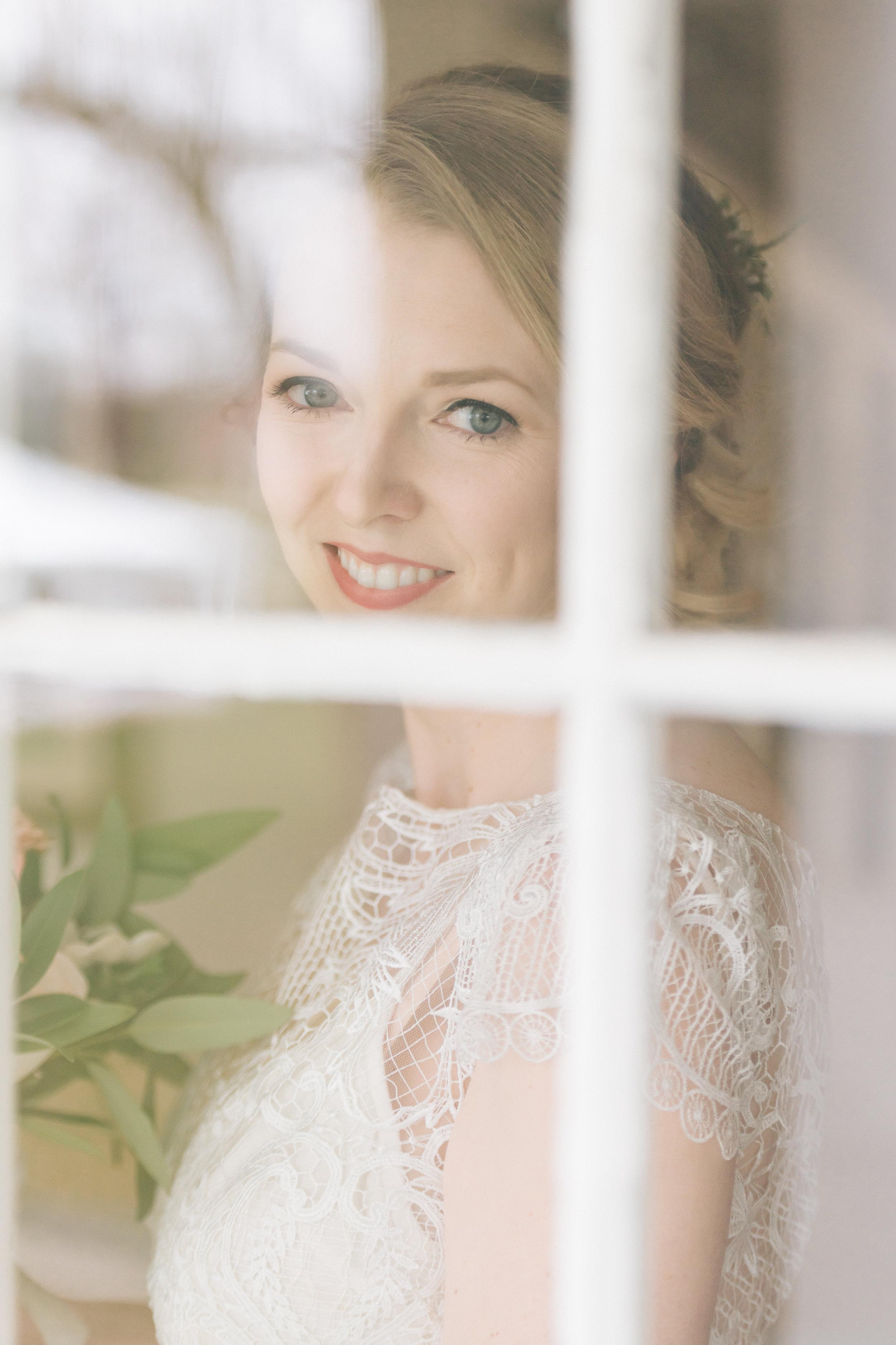 Beautiful Bride Julie - Zingerman Cornman Farm