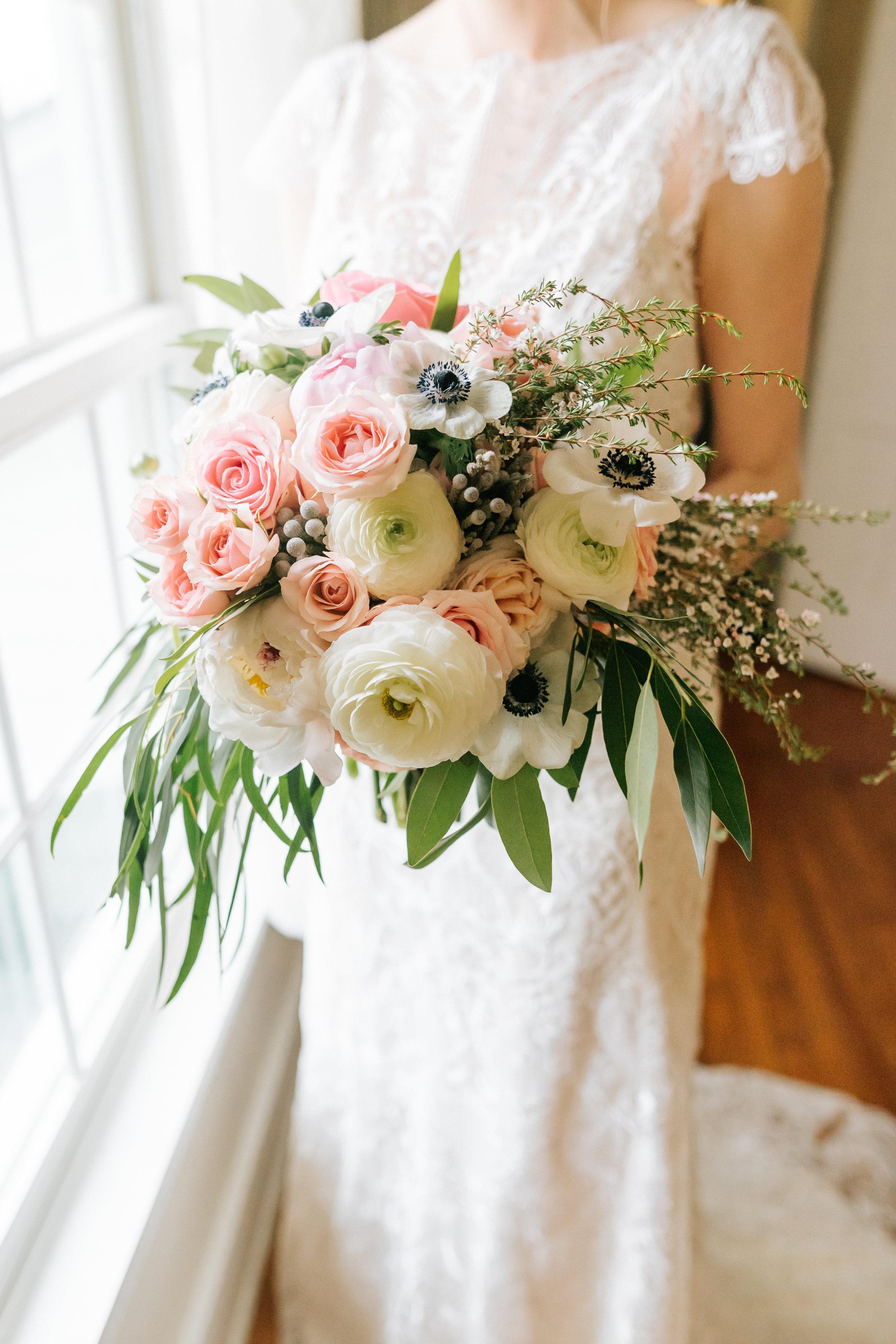 Spring Bridal Bouquet - Zingerman Cornman Farm