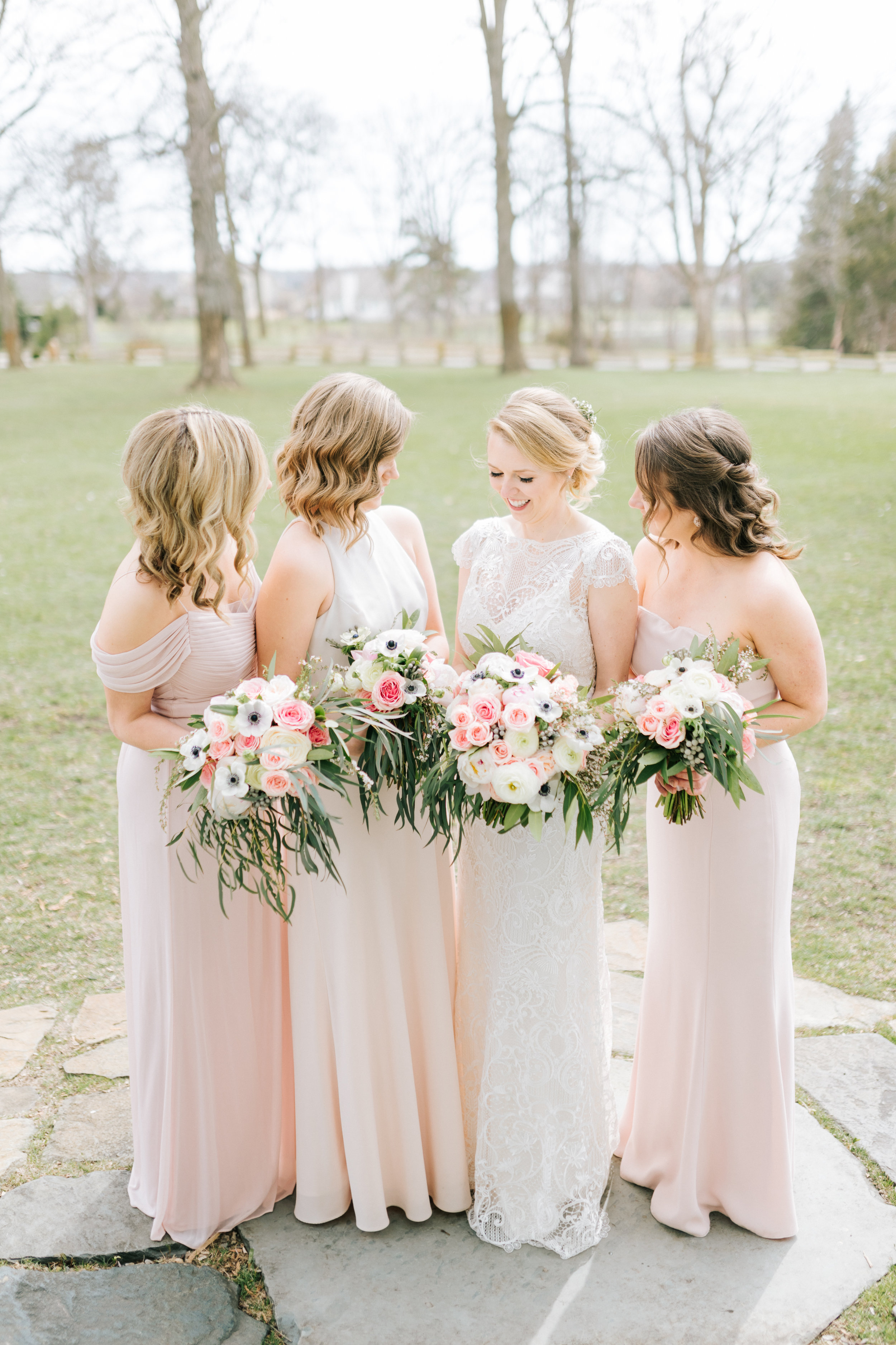Blush Wedding at Zingerman Cornman Farm