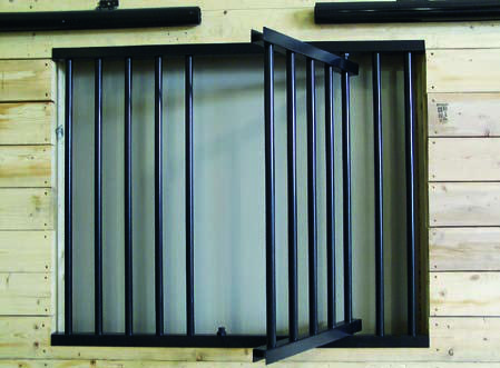 Swing Out Feed Door