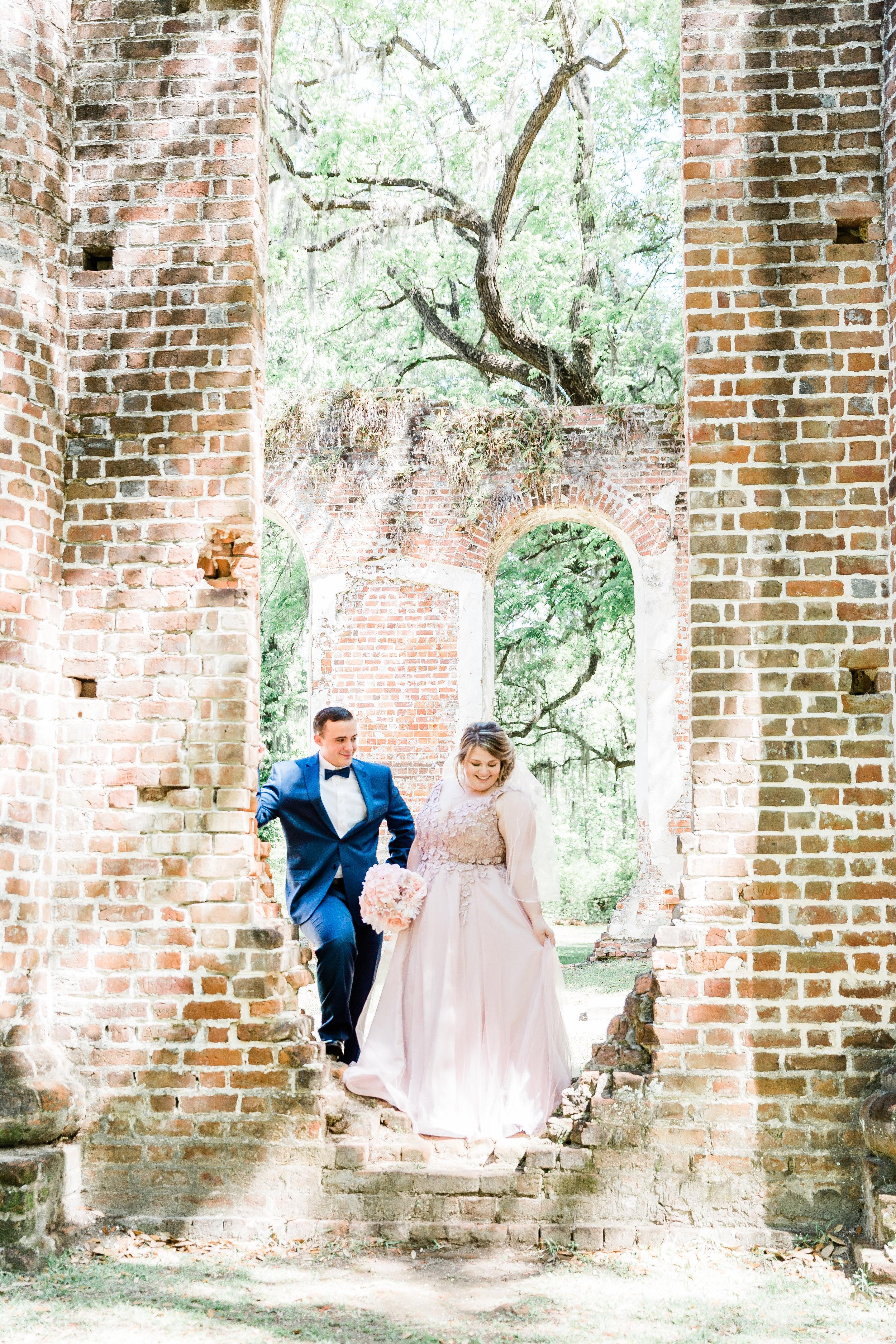 20190417-Southern Lens Photography-savannah family photographer- Ashley and Zack-old sheldon church ruins-201925.jpg