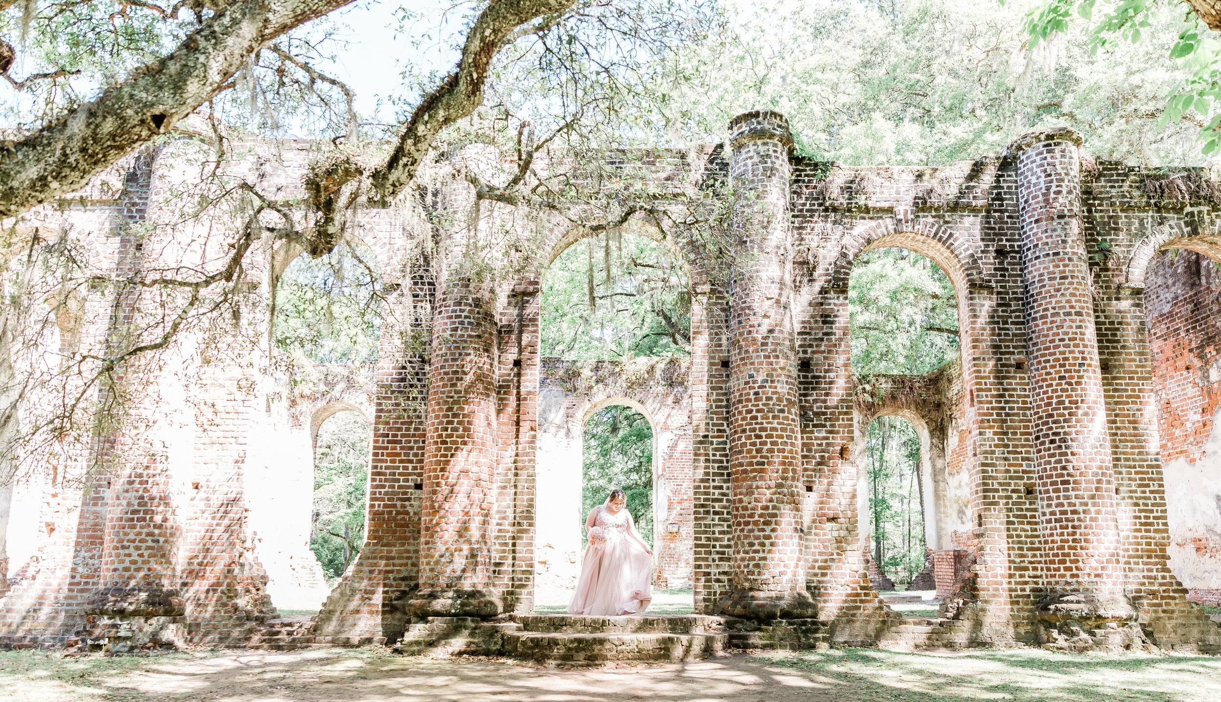 20190417-Southern Lens Photography-savannah family photographer- Ashley and Zack-old sheldon church ruins-201936.jpg