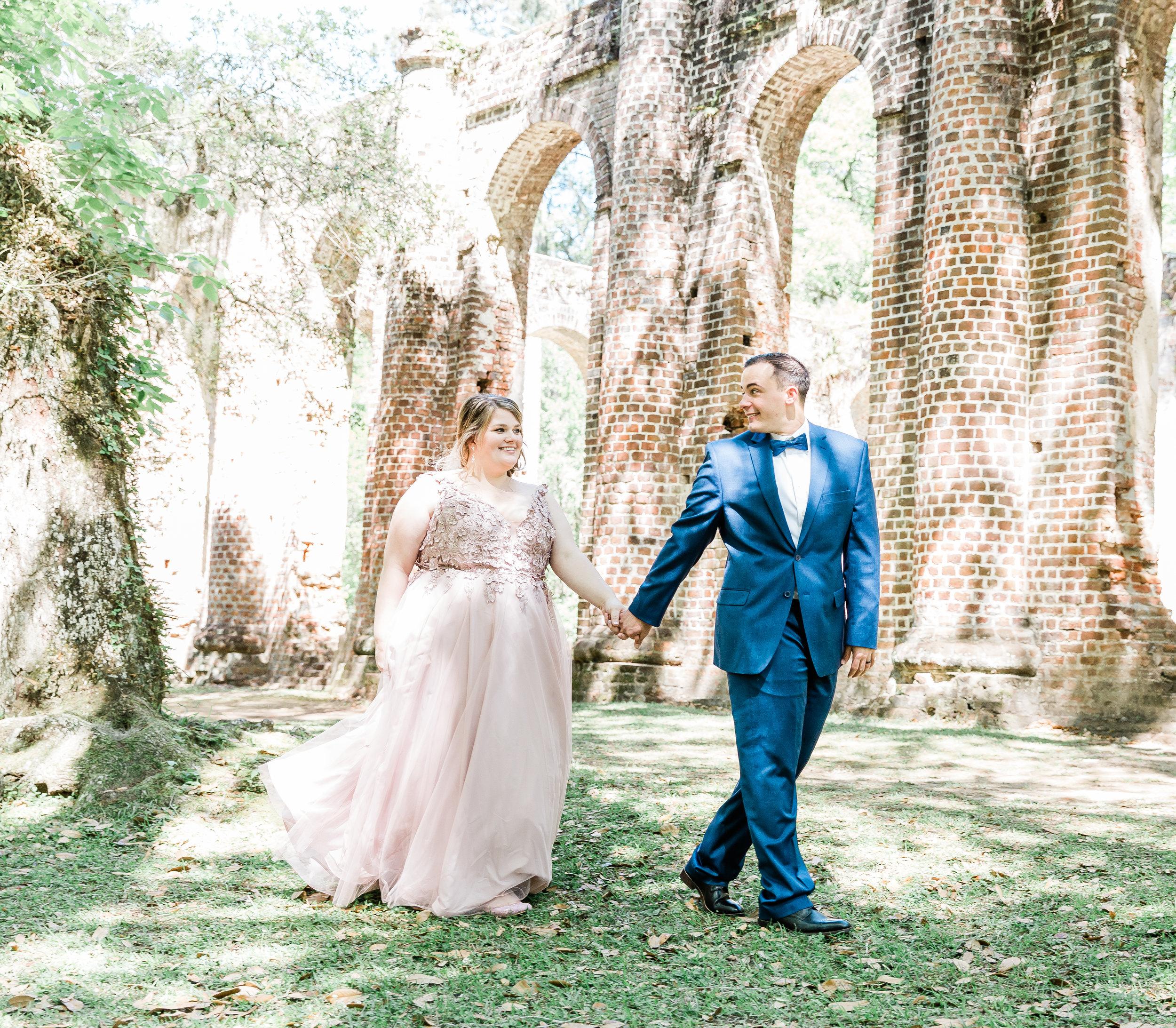 20190417-Southern Lens Photography-savannah family photographer- Ashley and Zack-old sheldon church ruins-201947.jpg