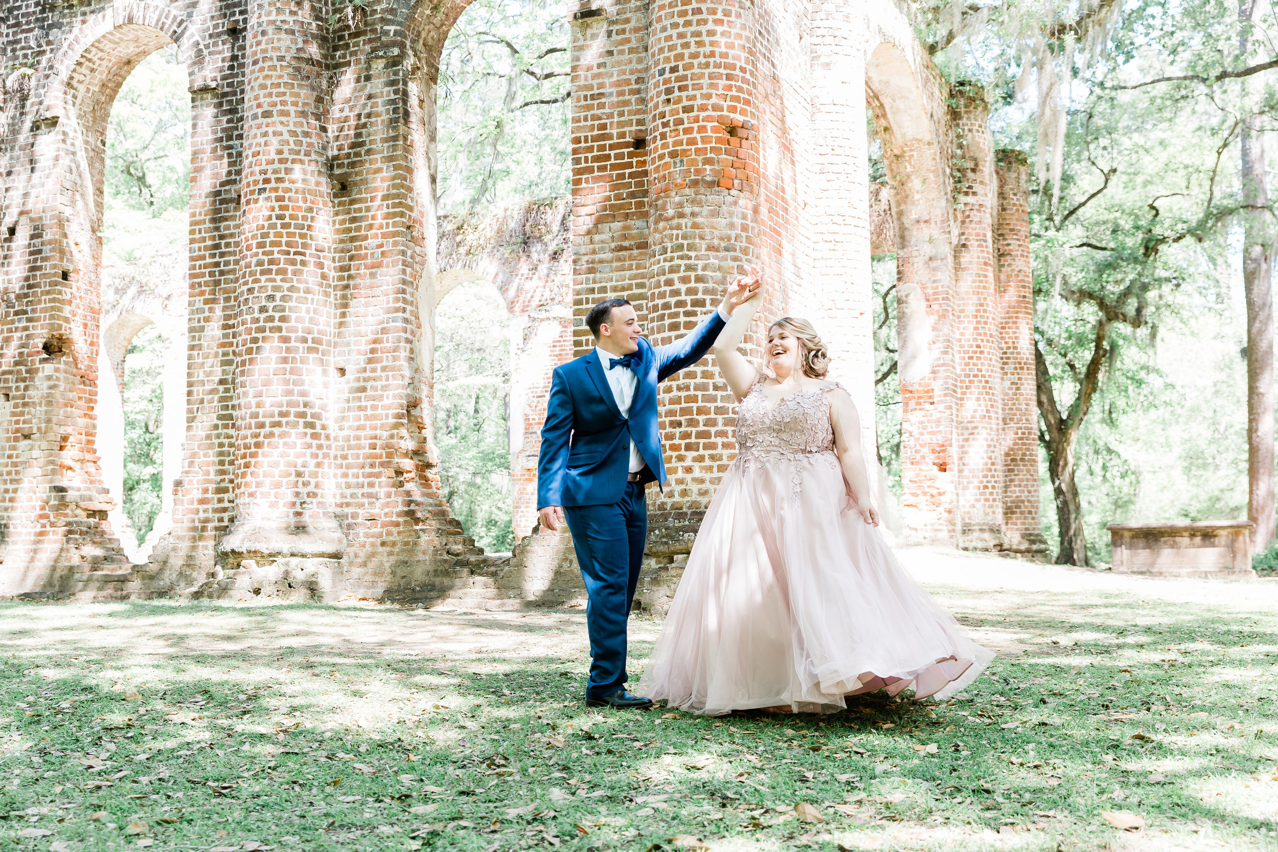20190417-Southern Lens Photography-savannah family photographer- Ashley and Zack-old sheldon church ruins-201950.jpg