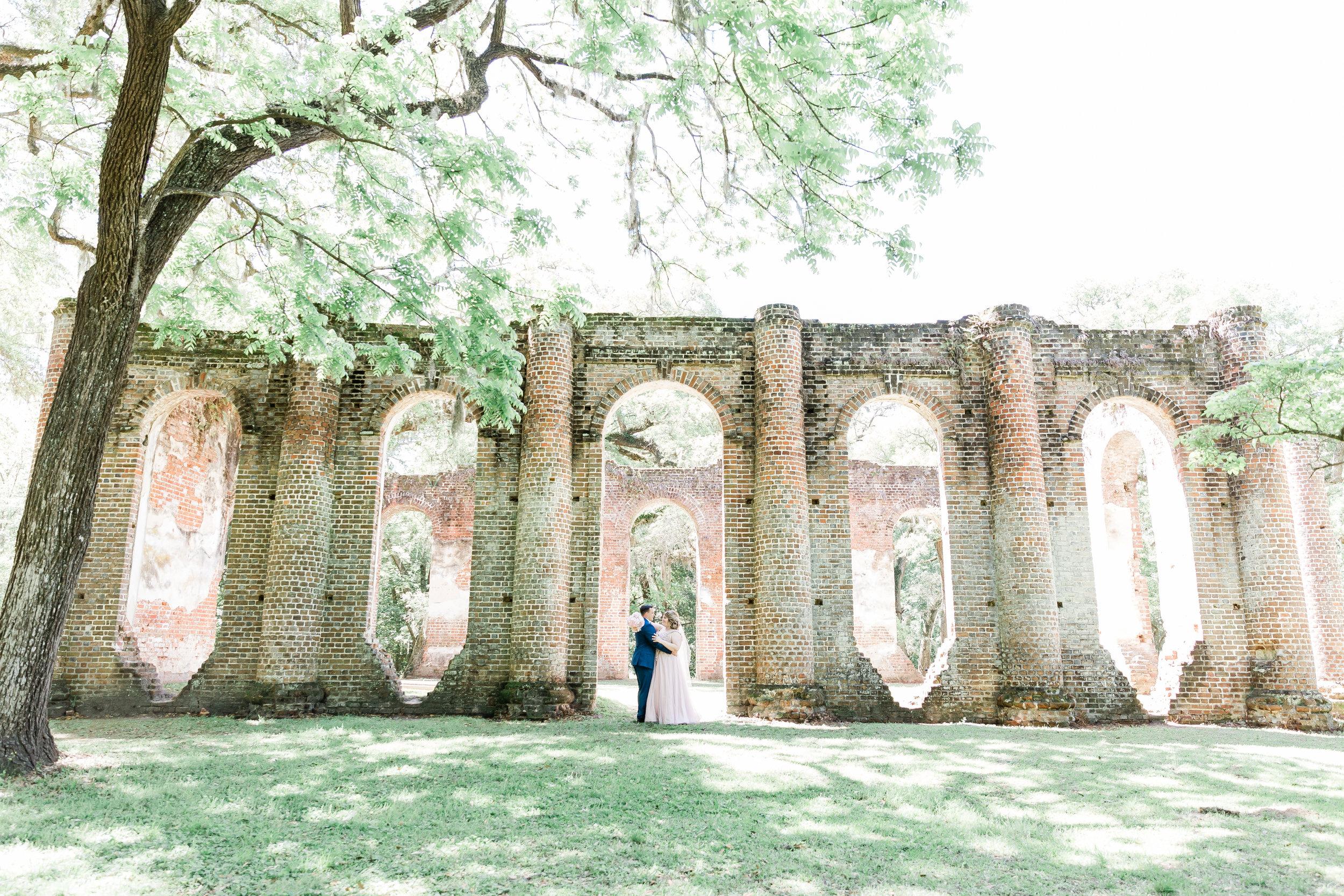 20190417-Southern Lens Photography-savannah family photographer- Ashley and Zack-old sheldon church ruins-201953.jpg