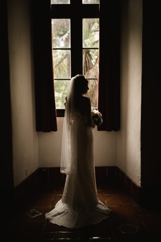 Elopement Spanish Style Santa Barbara Courthouse California Romantic dramatic moody dark wedding marriage photographer photography European Europe  - 7.jpg