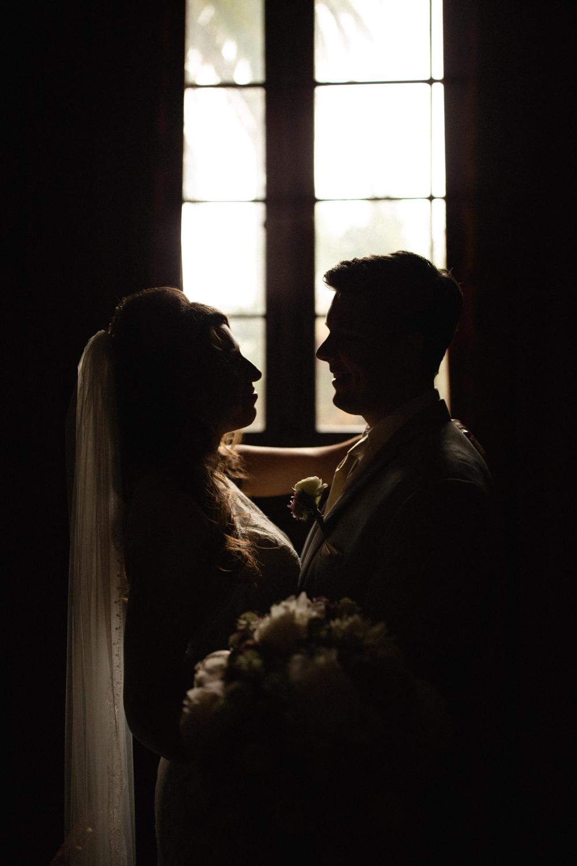 Elopement Spanish Style Santa Barbara Courthouse California Romantic dramatic moody dark wedding marriage photographer photography European Europe  - 34.jpg