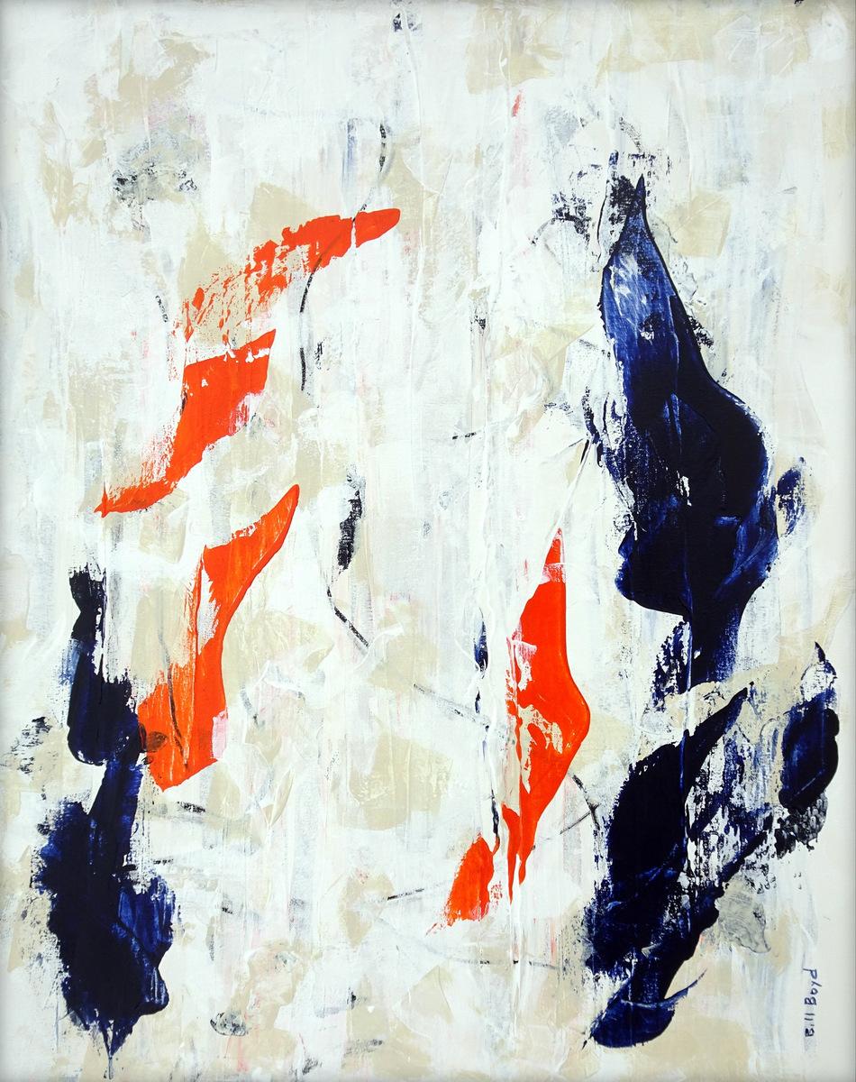 Abstract Mixed Media Painting, Bill Boyd.JPG