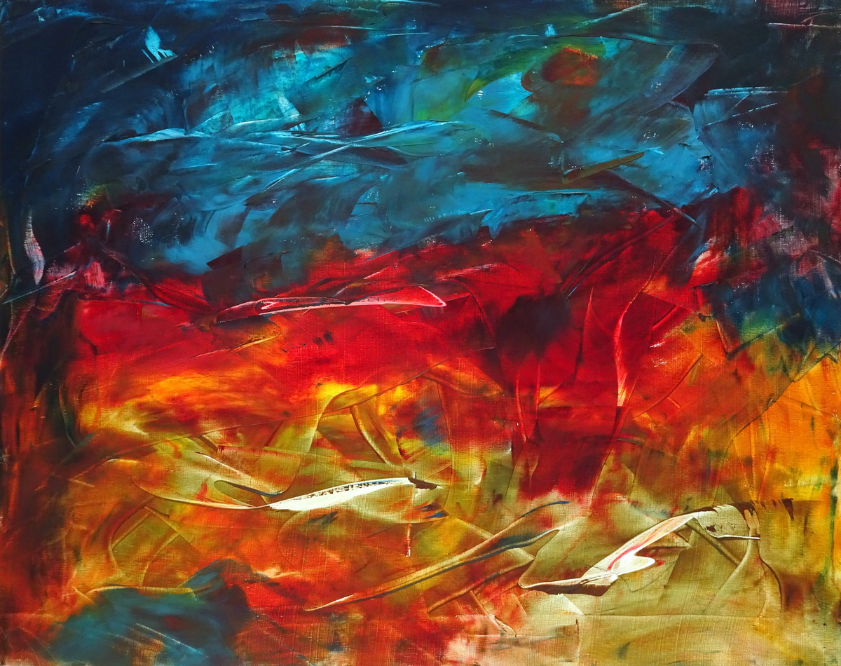 Abstract Expressionist Paintings, Bill Boyd, Black Mountain, NC-018.JPG